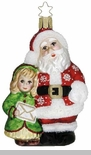 Inge Glas - Yes Virginia There is a Santa Claus Ornament