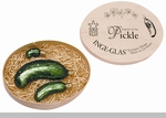 Inge-Glas of Germany Legend of the Christmas Pickle Christmas Ornament Set