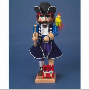 Steinbach Nutcracker - Long John Silver Nutcracker - Ltd Edition 7500, SIGNED!