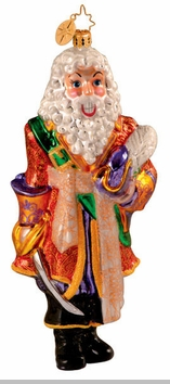 Christopher Radko Captain Snowbeard Ornament - Limited Edition 7500