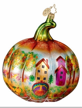 Christopher Radko 'Round Harvest Time Ornament - Thanksgiving Ornament